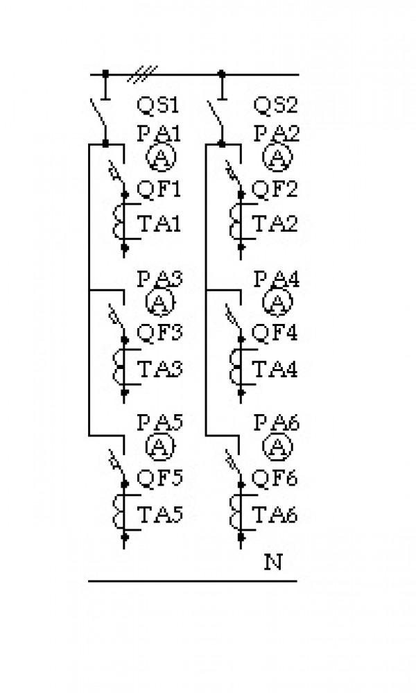 Схема ЩО-70-3-05 У3