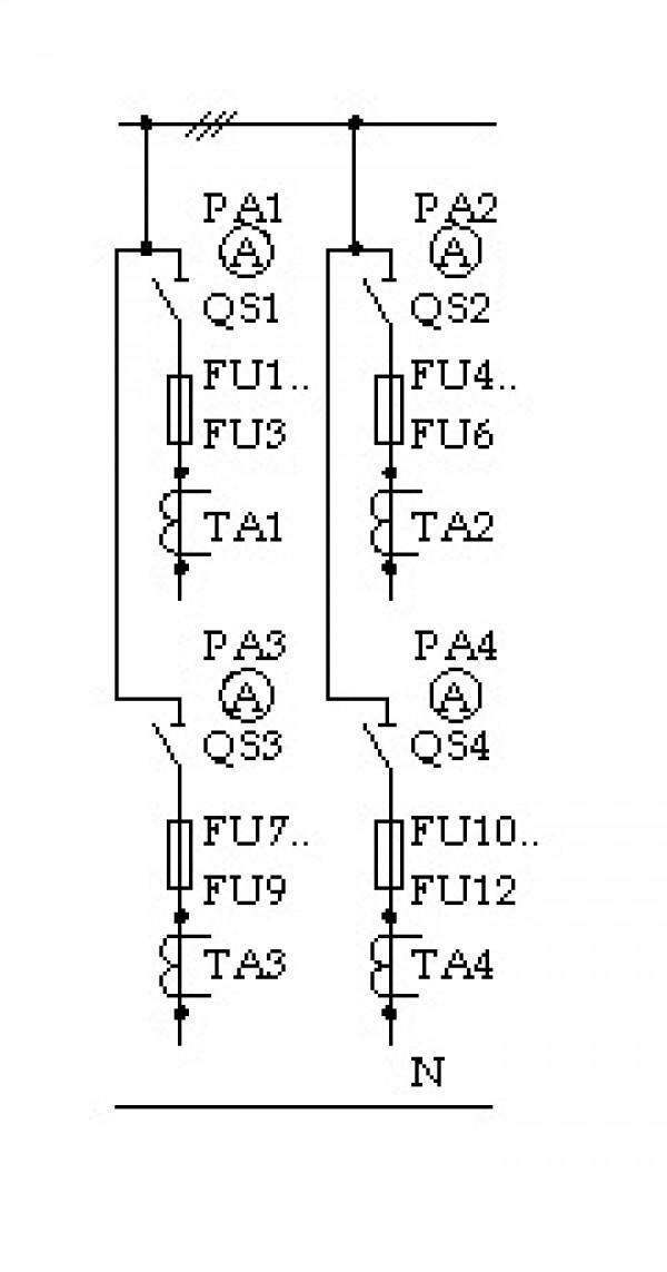 Схема ЩО 70-3-03 У3
