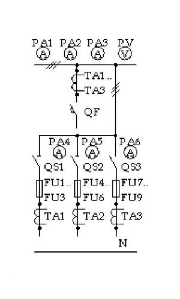 Схема ЩО-70-3-46 У3